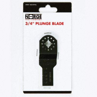 3/4&#034; HCS Plunge Blade